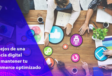 mantener ecommerce optimizado agencia digital algoritmo